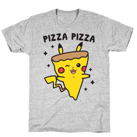 Pizza Pizza Pikachu Parody T-Shirt