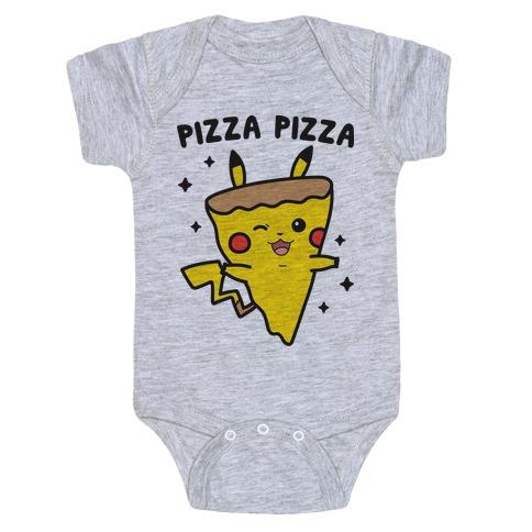 Pizza Pizza Pikachu Parody Baby One-Piece