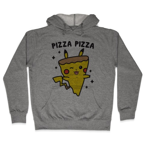 Pizza Pizza Pikachu Parody Hooded Sweatshirt