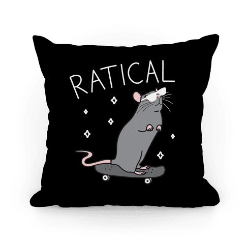 Ratical Rat Pillow