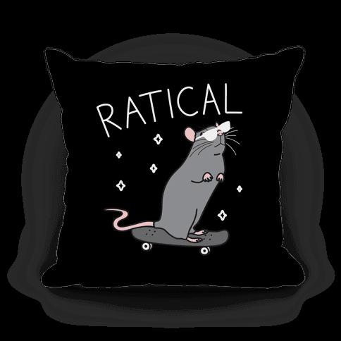 Ratical Rat Pillow