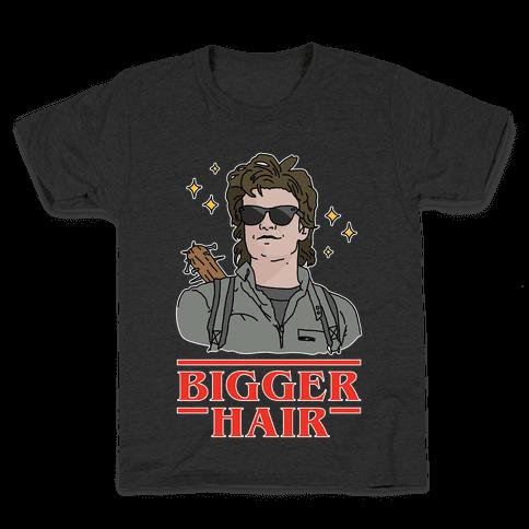 Bigger Hair Kids T-Shirt