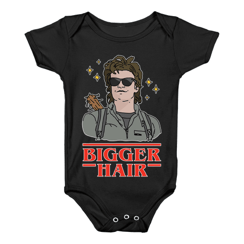 Bigger Hair Baby Onesy
