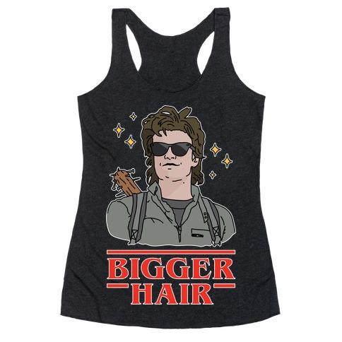 Bigger Hair Racerback Tank Top