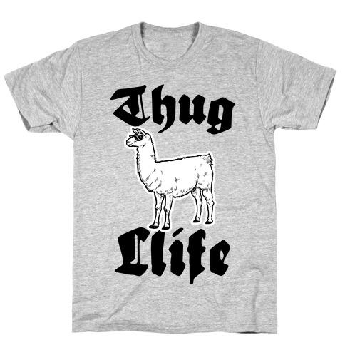 Thug Llife (Llama) T-Shirt
