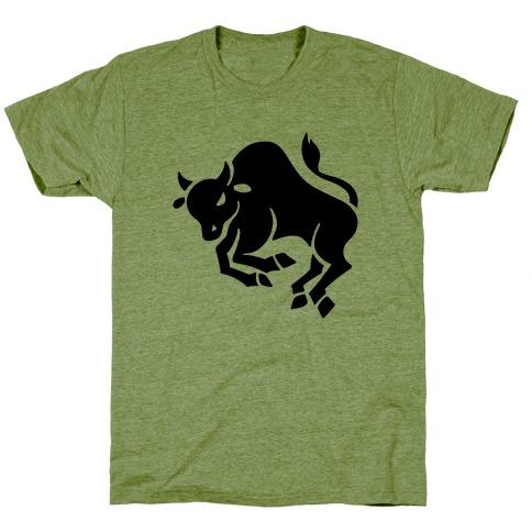 Zodiacs Of The Hidden Temple - Taurus Bull T-Shirt