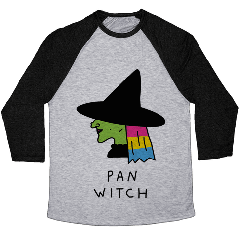 Pan Witch Baseball Tee