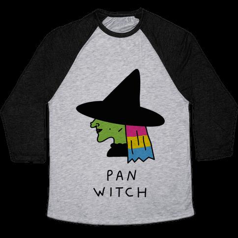 Pan Witch Baseball Tee