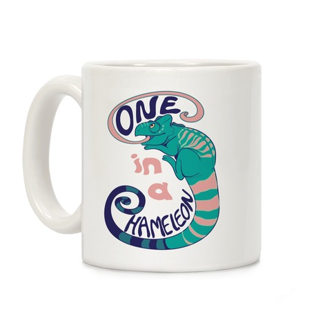 One in a Chameleon Coffee Mug