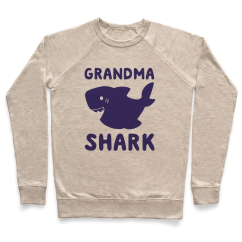 Grandma Shark (1 of 5 set) Pullover