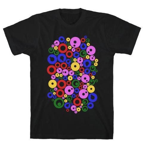 Bloobles Pattern T-Shirt