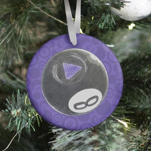 Nihilist 8-Ball Ornament