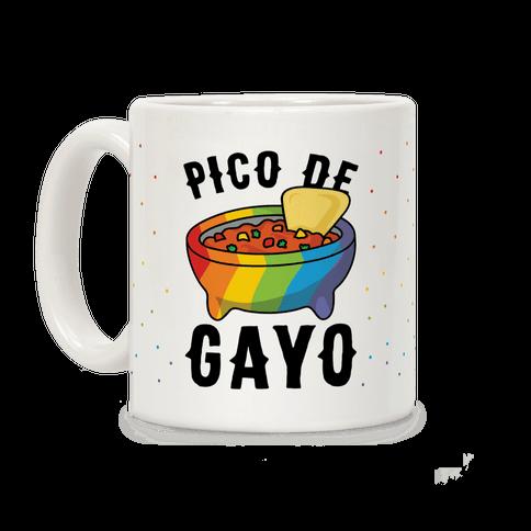 Pico De Gayo Coffee Mug