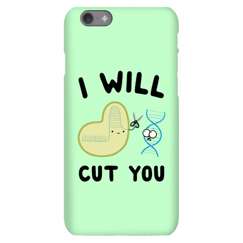 Crispr Will Cut You Phone Case