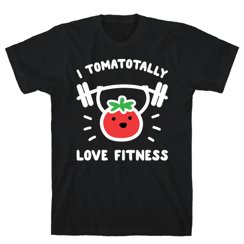 I Tomatotally Love Fitness Mens T-Shirt