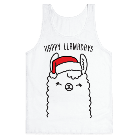 Happy Llamadays Tank Top