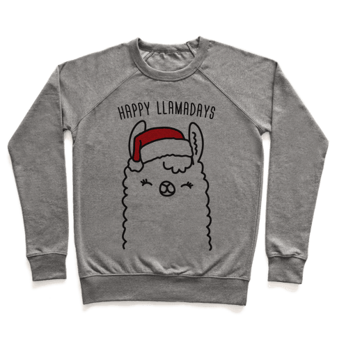 Happy Llamadays Pullover