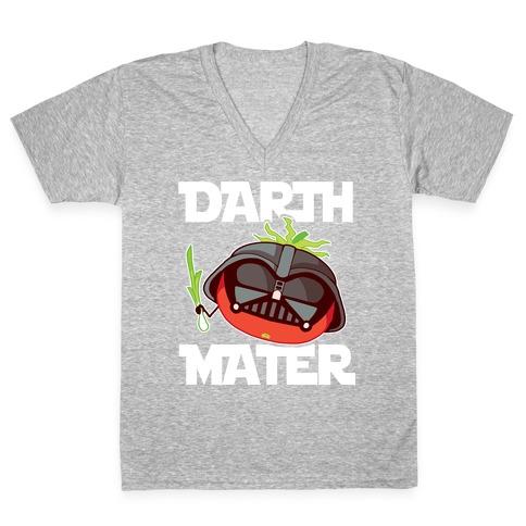 Darth Mater V-Neck Tee Shirt