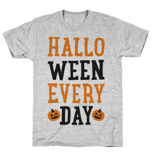 Halloween Every Day Mens T-Shirt