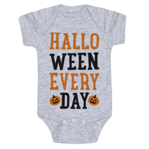 Halloween Every Day Baby Onesy