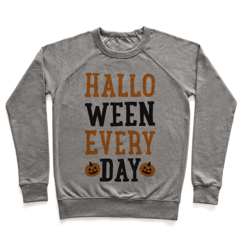 Halloween Every Day Pullover