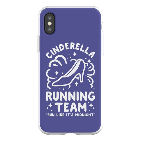 Cinderella Running Team Phone Flexi-Case