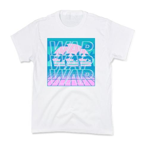 Vaporwave WAP  Kids T-Shirt