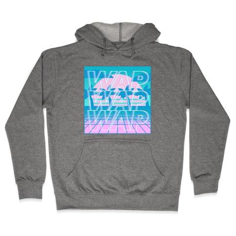 Vaporwave WAP Hooded Sweatshirt