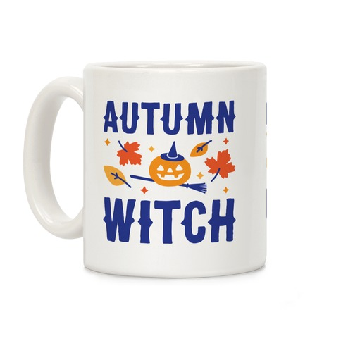 Autumn Witch Coffee Mug