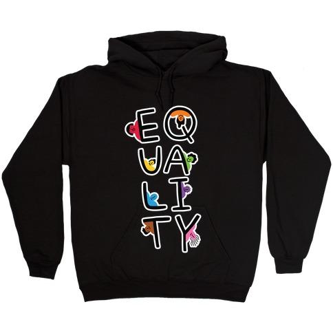 Equality People Hooded Sweatshirt