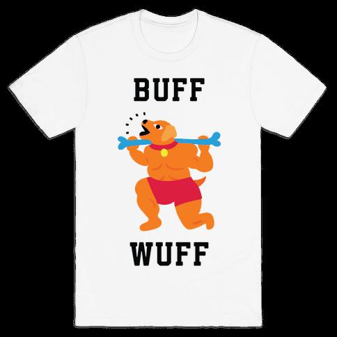 Buff Wuff Mens/Unisex T-Shirt