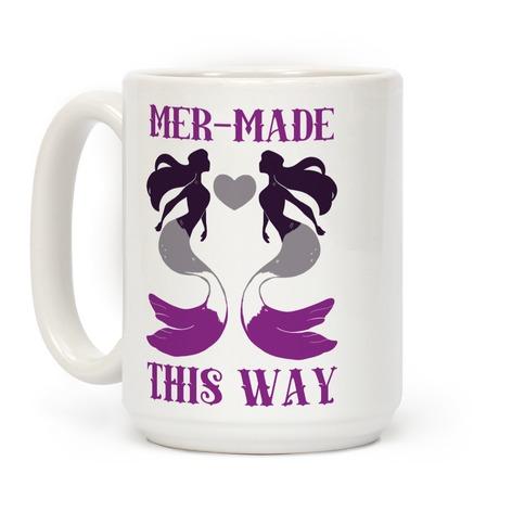 Mer-Made This Way - Ace Coffee Mug