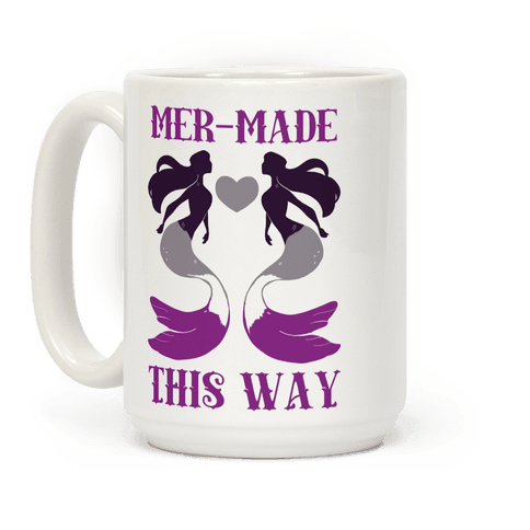 Mer-Made This Way - Ace Coffee Mug