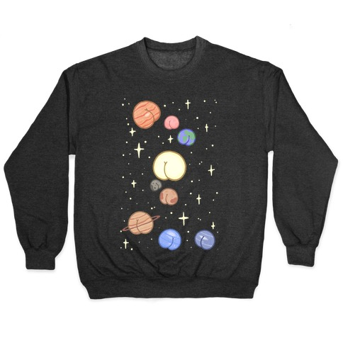 Butt Planets Pullover