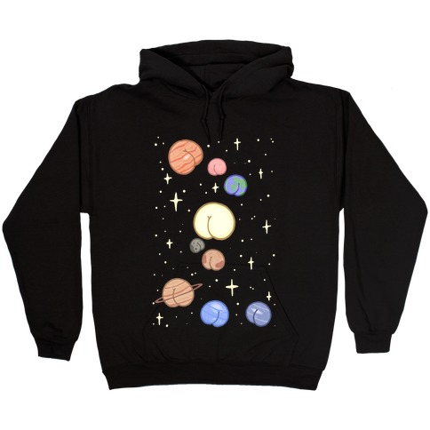 Butt Planets Hooded Sweatshirt