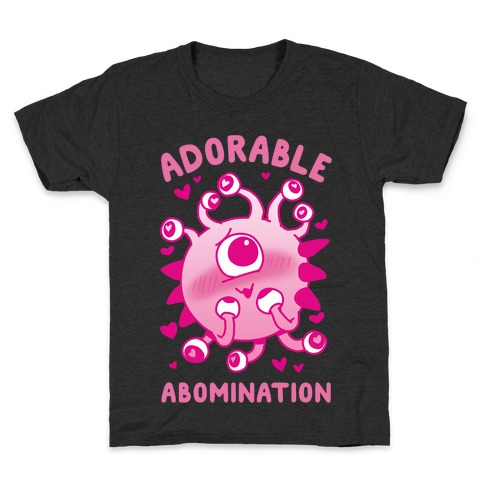 Adorable Abomination Kids T-Shirt
