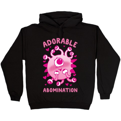 Adorable Abomination Hooded Sweatshirt