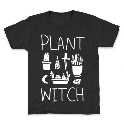 Plant Witch Kids T-Shirt