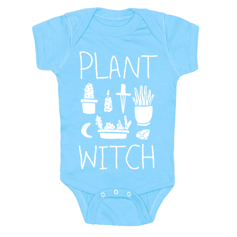 Plant Witch Baby Onesy