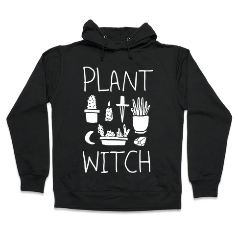 Plant Witch Hooded Sweatshirt