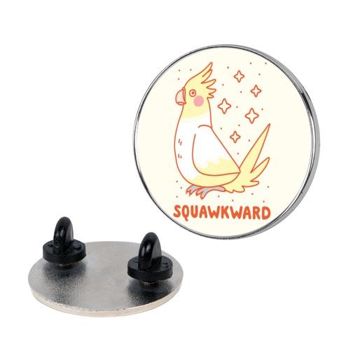 Squawkward Pin
