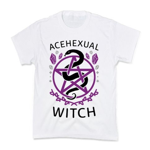 Acehexual Witch Kids T-Shirt