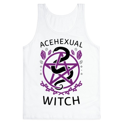 Acehexual Witch Tank Top