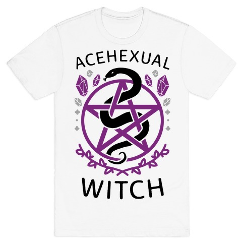 Acehexual Witch T-Shirt