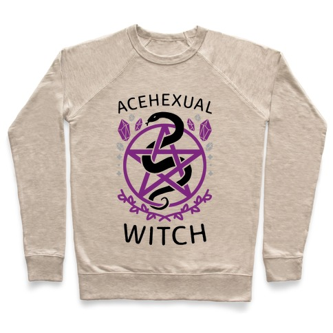 Acehexual Witch Pullover