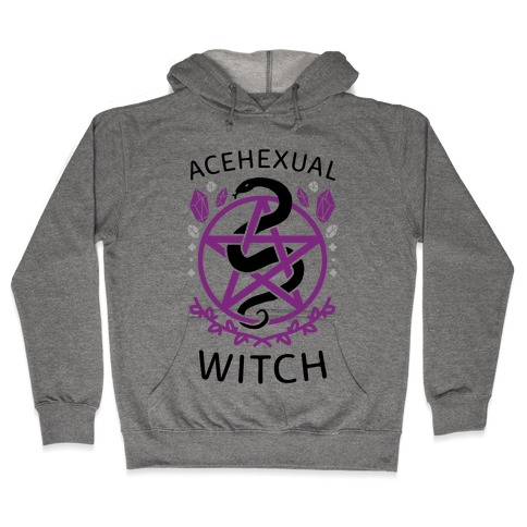 Acehexual Witch Hooded Sweatshirt