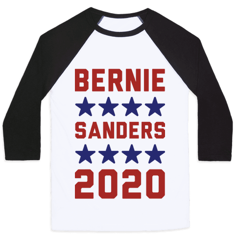 Bernie Sanders 2020 Baseball Tee