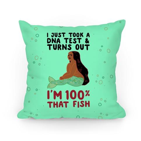 100% That Fish Pillow