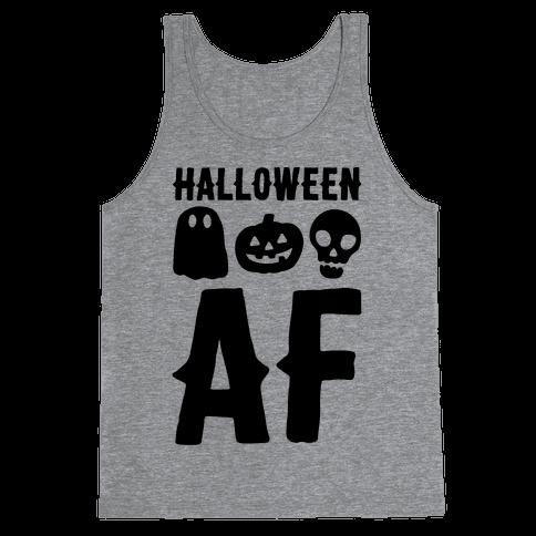 Halloween AF Tank Top