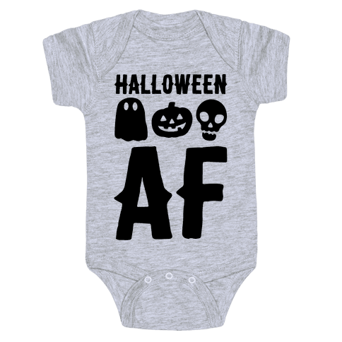 Halloween AF Baby Onesy